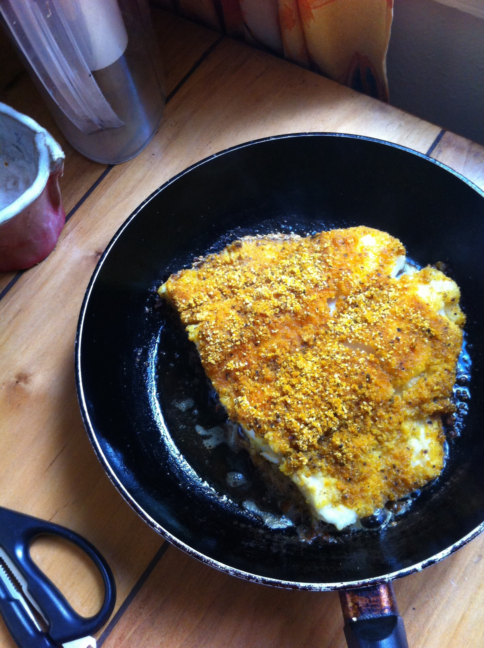 merluza apanada con cúrcuma y nuez moscada 2 paleo, primal, sin gluten, sin granos, sin azúcar