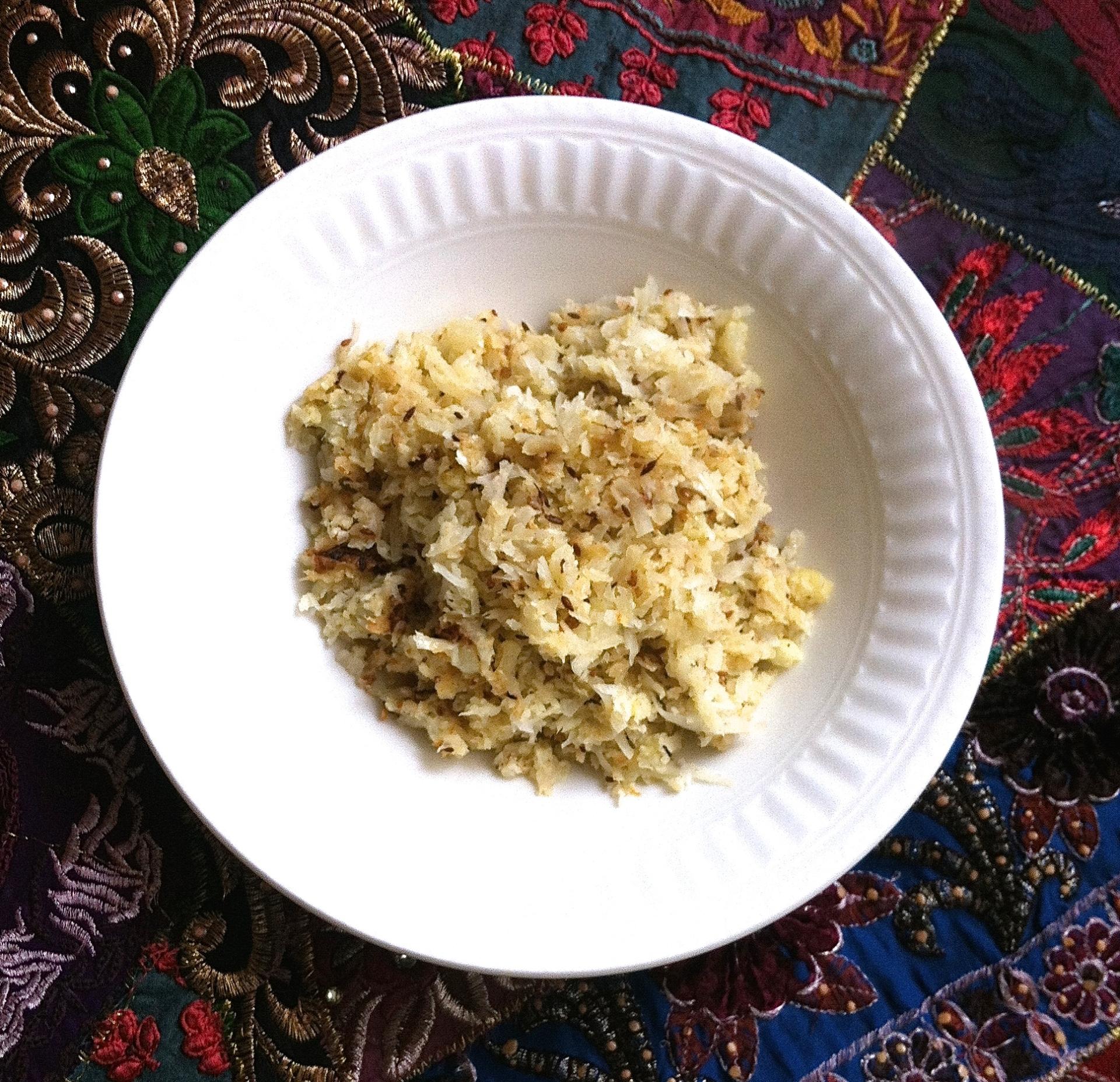 Coliarroz, la alternativa perfectamente Paleo (y densa en nutrientes) al arroz.